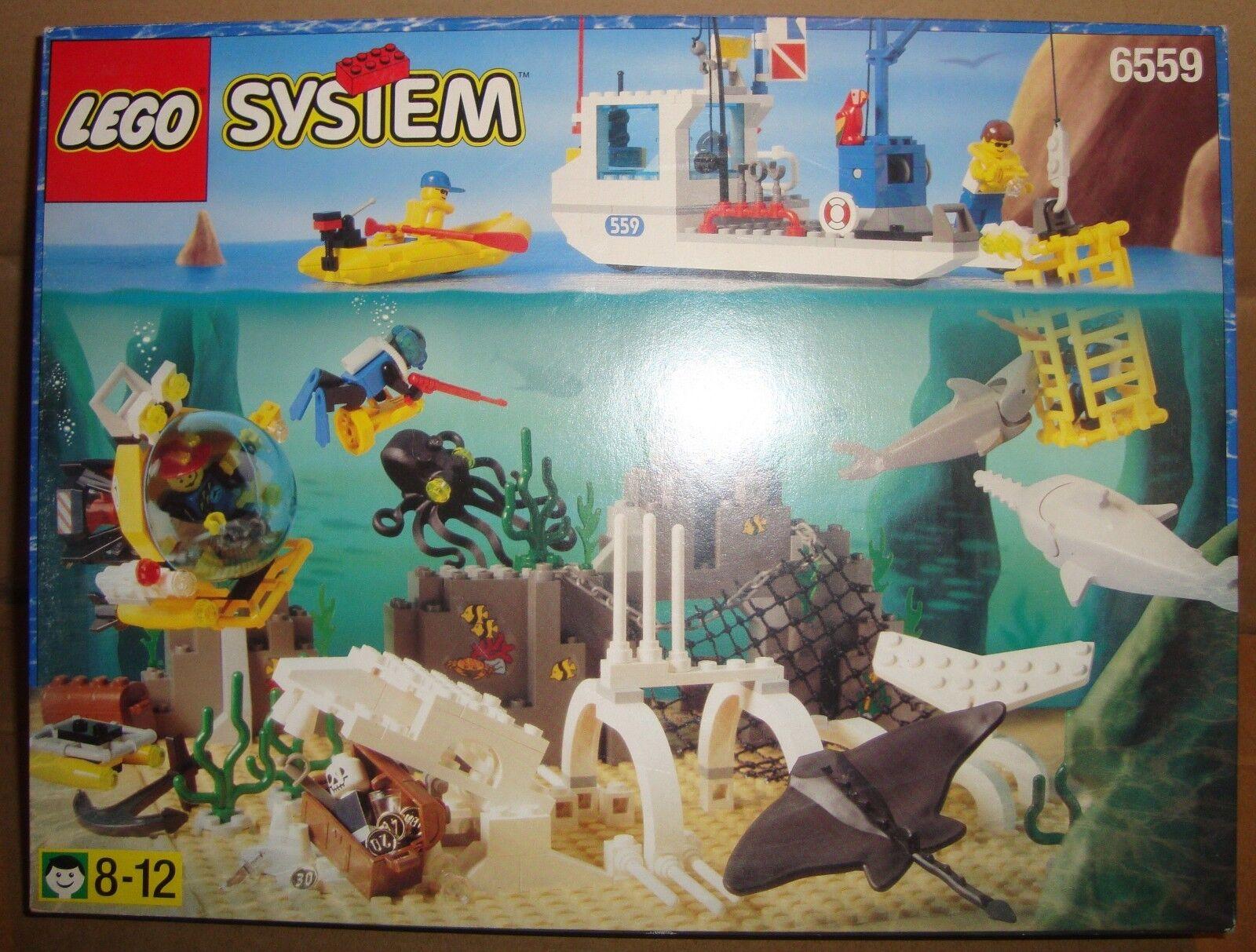 LEGO LEGO LEGO SYSTEM 6559 DEEP SEA BOUNTY LEGO 1997 21c2a4