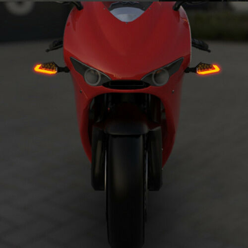 2PCS Motorcycle Turn Signal 22 high-bright LED chips LED Daytime Running Light