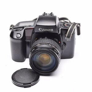 Canon-EOS-100-SLR-Camera-with-EF-35-105mm-f-4-5-5-6-Lens-c-1991