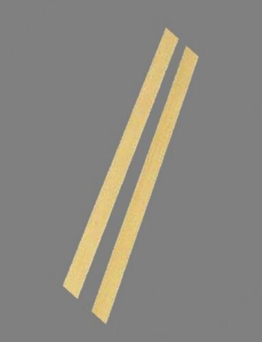 "2-12/"" Lengths Brass Flat Stock .064/"" x 1//2/"" x 1/' 260 Solid Rectangle Strip"
