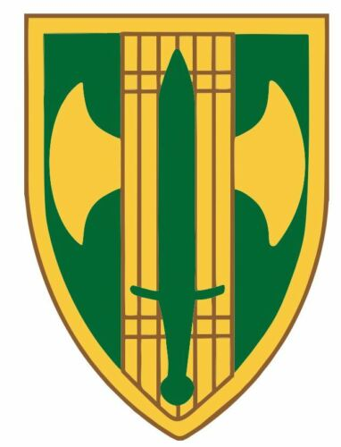 18th Military Police Brigade Sticker M721 YOU CHOOSE SIZE