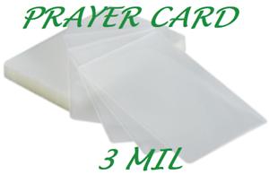 500-Prayer-Card-Laminating-Pouches-Laminator-Sheets-3-Mil-2-3-4-x-4-1-2-Quality
