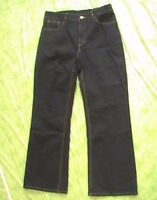 Avon Body Illusions Jet Denim Jeans - Black Size 14