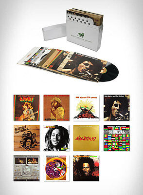 BOB MARLEY -  THE COMPLETE ISLAND RECORDINGS  [12 LP] VINYL BOX SET [BRAND NEW]