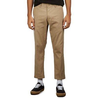 Obey Mens Slim Fit Straight Straggler Flooded Pants