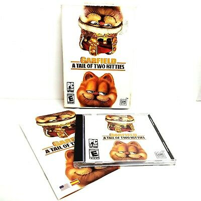 Garfield A Tail Of Two Kitties Pc Cd Rom Game Factory 2006 Cib Ebay