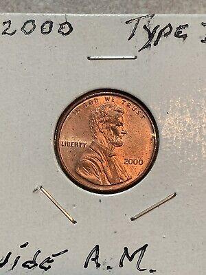 2000 Wide AM Lincoln Penny (Error) | eBay