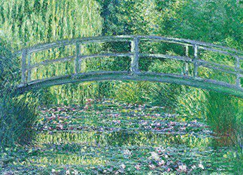 Epoch Jigsaw Puzzle 54-008 World Art Claude Monet Water Lilies (2000 From japan