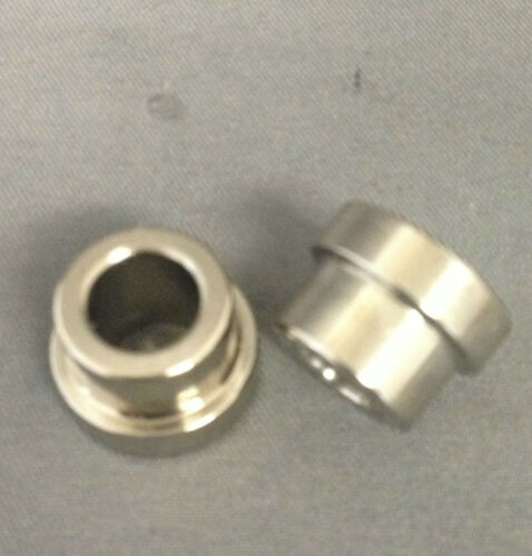 Eyelet Bushings Electroless Nickel 21.85mm width x 8mm ID Fits Fox 803-03-030