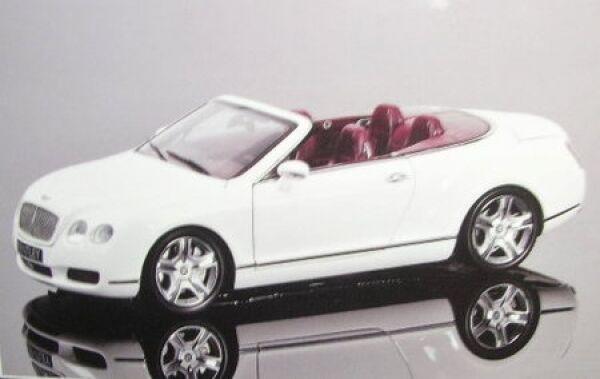 Joyeux Noël! Bentley Continental GTC (Blanc) | Terrific Value
