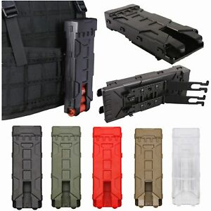 Tactical Molle 10pcs12ga Shotgun Shell Holder Buttstock Shell Pouch