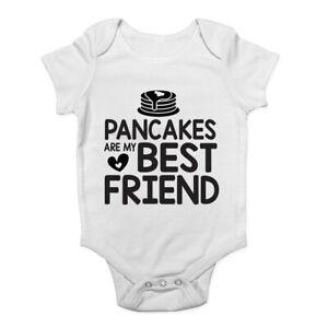 Pancakes-are-my-Best-Friend-Boys-Girls-Baby-Grow-Vest-Bodysuit
