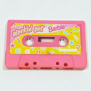 WORKIN-OUT-BARBIE-RARE-CASSETTE-ONLY-MATTEL-1996