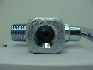 Packed Bonnet FxF NPT 1//4 Carbon Steel Needle Valve 10,000PSI