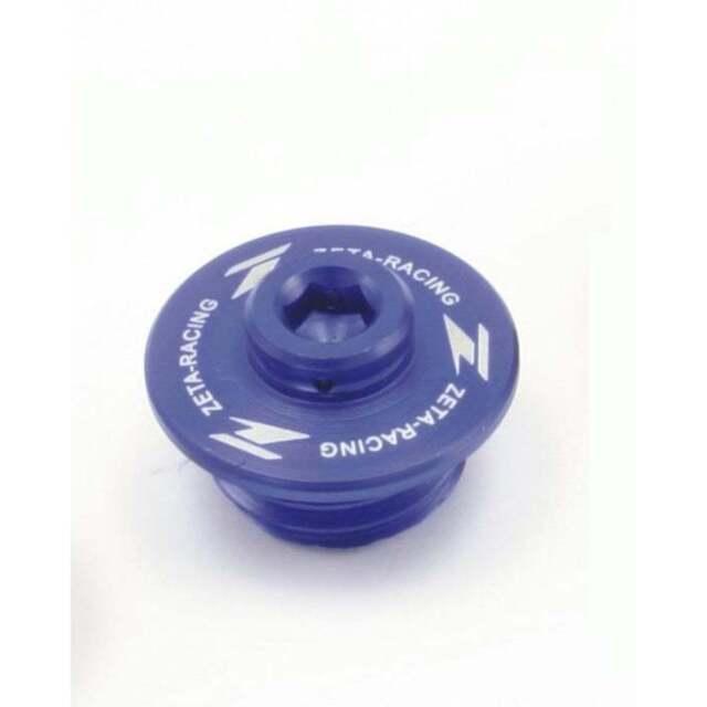 DRC Oil filler plug Suzuki blue