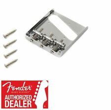 1 Genuine Fender Highway One CHROME Telecaster//Tele Bridge Assembly