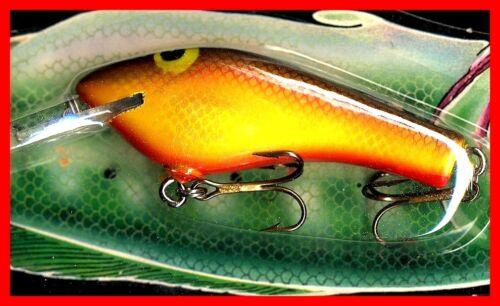 Vintage 1987 POE/'S SUPER CEDAR Brown Crawdad Fishing Lure #818