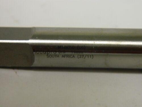 """Accupro Point Taps M16 x 2.00/"""" D6 4FL HSSe Bright Right Hand Spiral #55360861"""