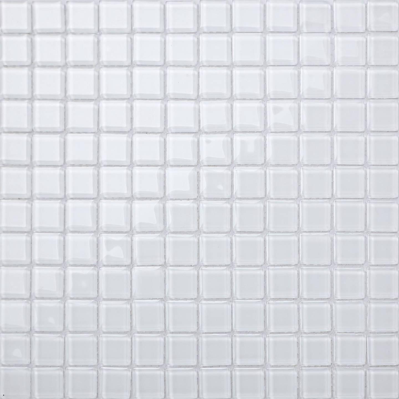 1 SQ M Ice Weiß Glass Mosaic Wall Tiles Bathroom Bath Shower Toilet DIY 0079