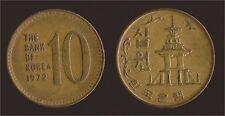KOREA COREA DEL SUD 10 WON 1972