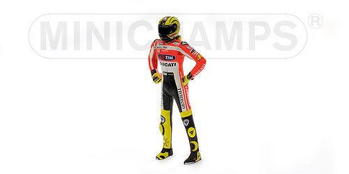 Pilota Valentino Rossi Ducati Motogp 2011 Minichamps 1:12 312110846 Modellino
