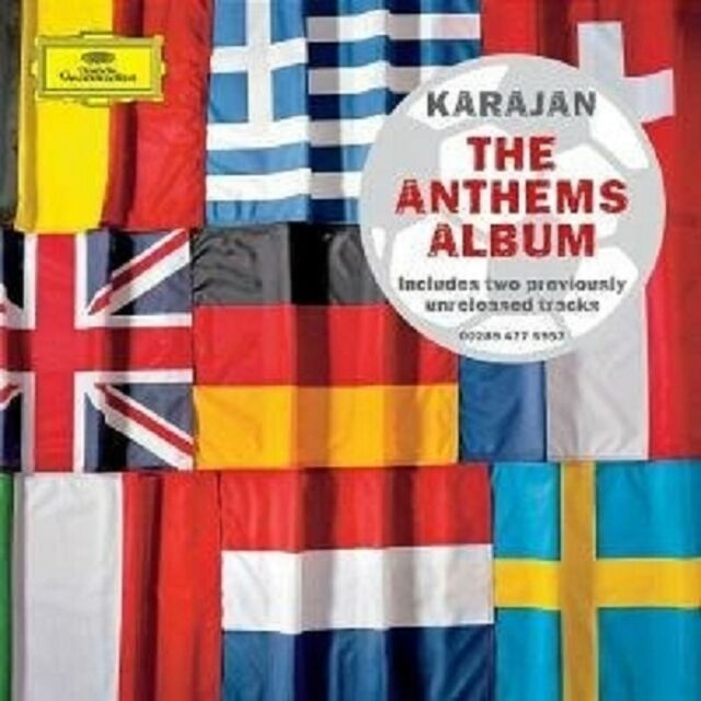 "HERBERT VON KARAJAN ""THE ANTHEMS ALBUM"" CD NEU"