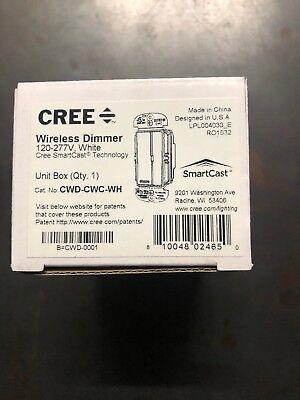 CREE 120-277V WHITE WIRELESS DIMMER, CWD-CWC-WH 810048024650 | eBay