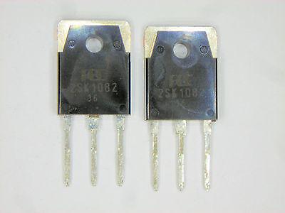 """2SK1082 /""""Original/"""" FUJI MOSFET Transistor 2 pcs"""