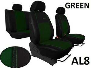 LAND ROVER FREELANDER Mk1 3Dr 98-06 LEATHER ALICANTE SEAT COVERS MADE TO MEASURE
