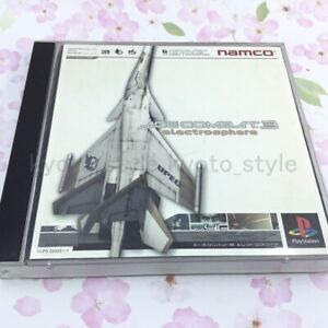 USED-PS1-PS-PlayStation-1-Ace-Combat-3-10642-JAPAN-IMPORT