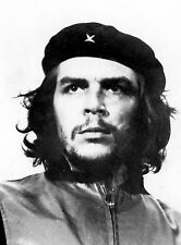Che Guevara Revolutionist Vintage Black & White Iconic Print Photo Picture