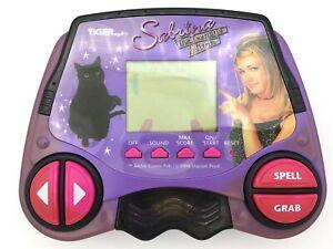 Vtg-Sabrina-the-Teenage-Witch-Tiger-Electronics-LCD-Game-Handheld-1998-Works