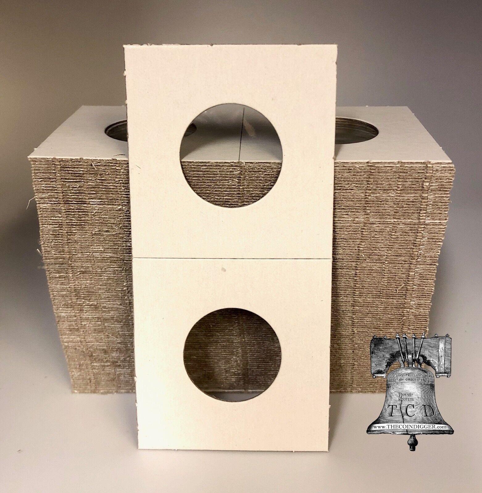 100 2x2 BARBER Dime Mylar Cardboard Display Coin Holder Flip BCW Storage Case