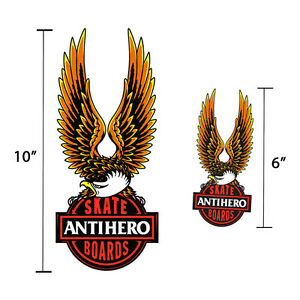 Anti-Hero-Nothing-Free-Sticker-Skateboard-Decal-6-034-or-10-034-Available-Eagle-Harley
