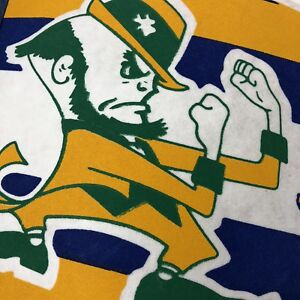 f17bfeb5032 Image is loading Vintage-College-Notre-Dame-Fighting-Irish-Pennant-Flag-