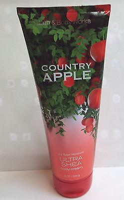 Bath & Body Works Country Apple Ultra Shea Body Cream 8 oz