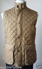 POLO Ralph Lauren Diamond Quilted Vest Jacket Size S Gold Color NWT