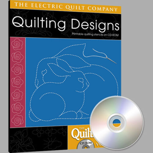 QUILTMAKER QUILTING DESIGNS Volume 2 Software NEW CD