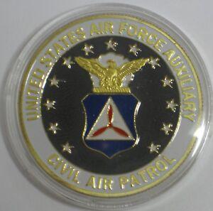 69b3c74d51d UNITED STATES AIR FORCE AUXILIARY CIVIL AIR PATROL CHALLENGE COIN ...