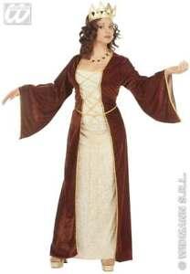 MEDIEVAL PRINCESS ADULT FANCY DRESS COSTUME LADIES (ROYALTY)