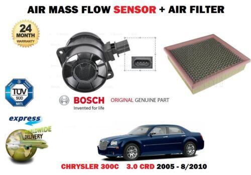 FOR CHRYSLER 300C 3.0 CRD 218BHP 2005-2010 NEW AIR MASS FLOW SENSOR AIR FILTER