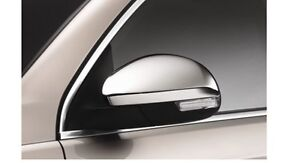 Stainless Steel Mirror Cap Trims Tiguan Sharan Alhambra 5N0072530Q91 New VW part