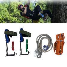 Tree Climbing Spike Set Tree Climbing Gear With Adjustable Safety Lanyard