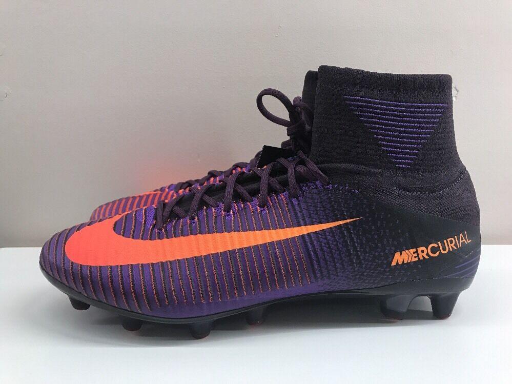 Nike Mercurial súperfly Ag Pro Púrpura Naranja V 12 EUR 47.5 831955 585