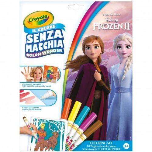 set coloring album da colorare e pennarelli Frozen 2