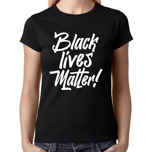 BLACK-LIVES-MATTER-Anti-Rassismus-I-cant-breathe-George-Floyd-Damen-Lady-T-Shirt