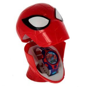 Spiderman-Reloj-Digital-con-Estuche-3D