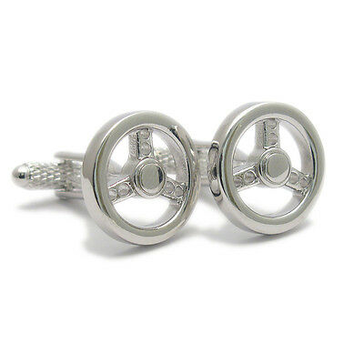 Novelkty Meerkat Cufflinks in a polished silver finish  NEW in BOX