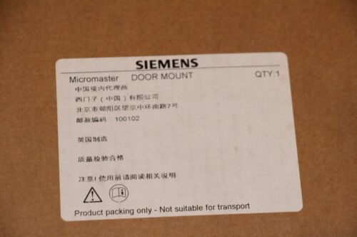 Siemens 6SE6400-0PM00-0AA0 Inverter Door Mounting Kit New