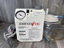 Precision Medical Easy Go Vac Aspirator Amp Power Ships Free